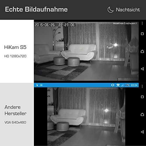 HiKam S5 Überwachungskamera