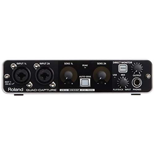 Roland UA 55 Quad Capture Audio Interface
