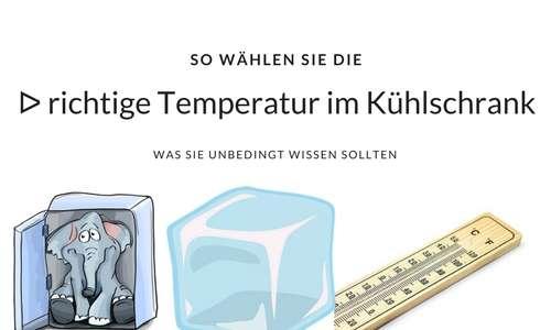 Die Richtige Kuhlschrank Temperatur Was Ist Wichtig