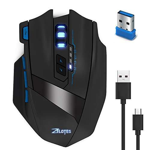 KingTop Gaming Maus für Pro Gamer