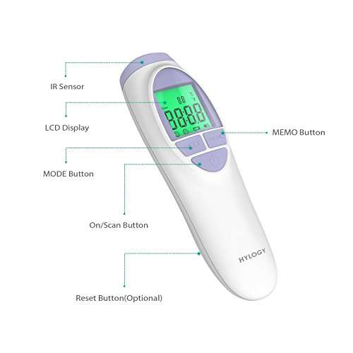Hylogy MD-H7 Infrarot Fieberthermometer