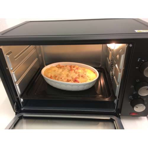 Test - elektrischer Backofen FA 5044-1 TZS First Austria 5