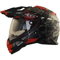 Broken Head Road Pirate Motocross Helm