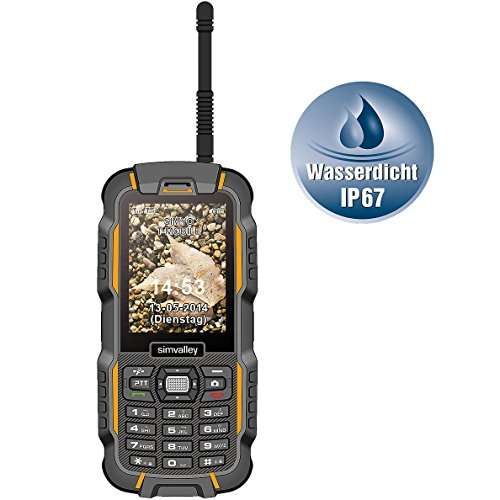 simvalley MOBILE XT-980 Outdoor Handy
