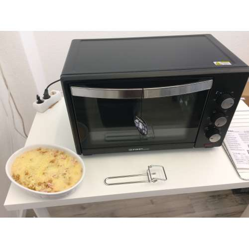 Test - elektrischer Backofen FA 5044-1 TZS First Austria 3