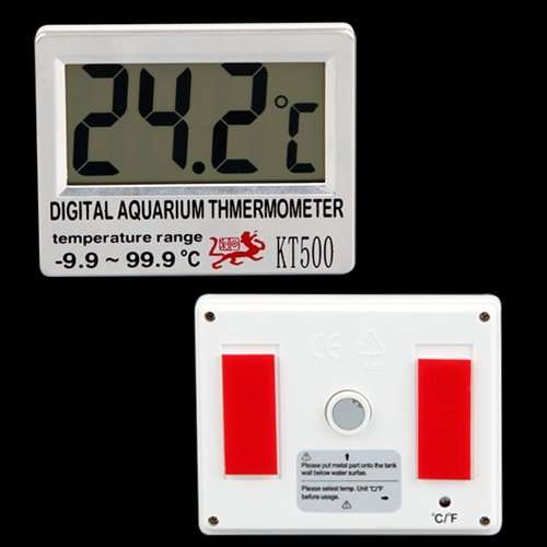 Digital Anzeige Fische Aquarium Thermometer