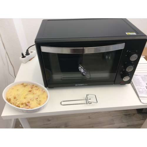 Test - elektrischer Backofen FA 5044-1 TZS First Austria 2