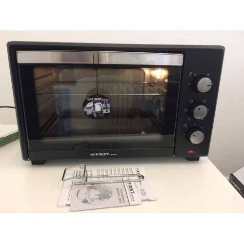 Test - elektrischer Backofen FA 5044-1 TZS First Austria 1