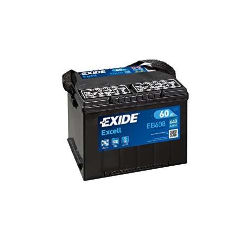Exide Excell EB608 Autobatterie