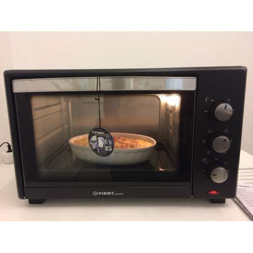Test - elektrischer Backofen FA 5044-1 TZS First Austria 4