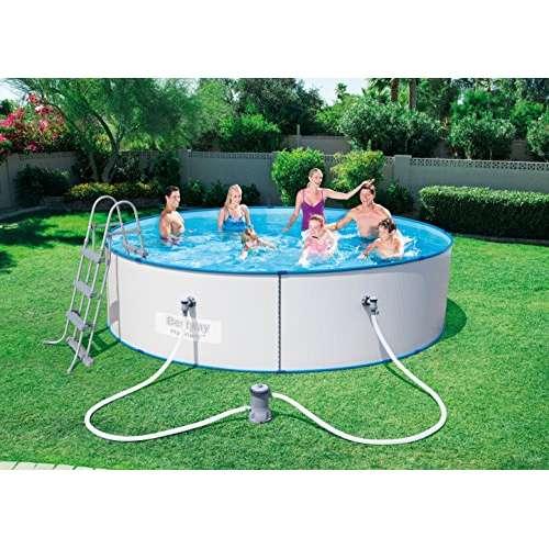 Bestway hydrium splasher stahlwand pool test for Garten pool testbericht