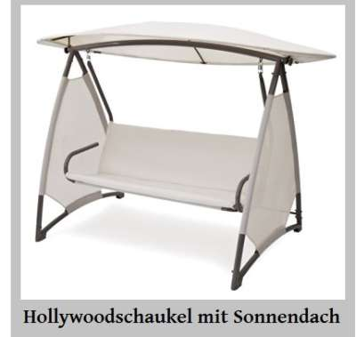 beautiful hollywoodschaukel mit bettfunktion photos. Black Bedroom Furniture Sets. Home Design Ideas