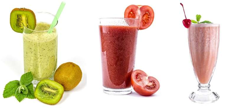 Selbstgemachte Smoothies