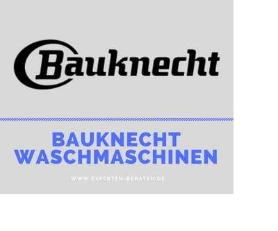 ᐅ Bauknecht Waschmaschinen Test 2019 Top 5 Geräte Ratgeber
