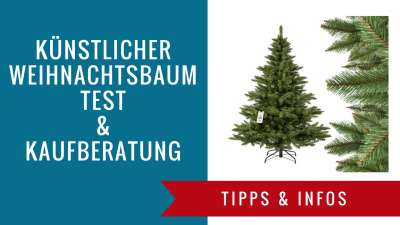 k nstlicher weihnachtsbaum test 2018 top 25 k nstliche. Black Bedroom Furniture Sets. Home Design Ideas