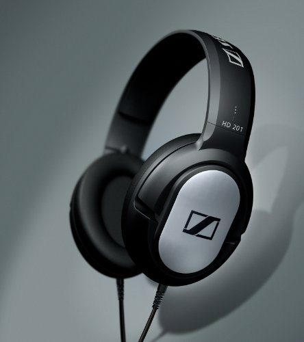 sennheiser hd 201 over ear kopfh rer test. Black Bedroom Furniture Sets. Home Design Ideas