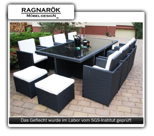 ragnar k m beldesign polyrattan gartenm bel test. Black Bedroom Furniture Sets. Home Design Ideas