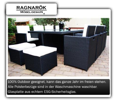 ragnar k m beldesign polyrattan gartenm bel test. Black Bedroom Furniture Sets. Home Design Ideas