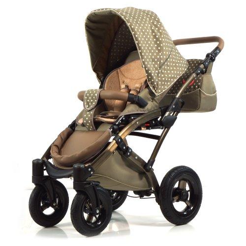knorr baby 33000 03 voletto tupfen kombikinderwagen test. Black Bedroom Furniture Sets. Home Design Ideas