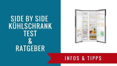 ᐅ Side By Side Kühlschrank Test 2019 Zu Den Top 40