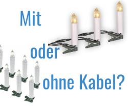 Weihnachtsbaumbeleuchtung Mit Kabel : weihnachtsbaumbeleuchtung test 2019 mit ratgeber ~ Watch28wear.com Haus und Dekorationen